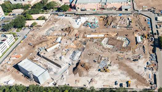 PHOTOS - Overhead view of construction at Disney's Hollywood Studios Toy Story Land