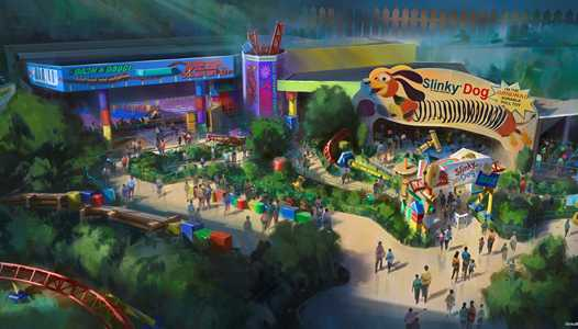 PHOTOS - New Toy Story Land concept art shows changes from the original announcement