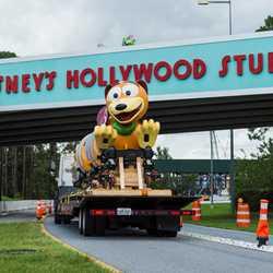 Slinky Dog Dash Ride vehicle
