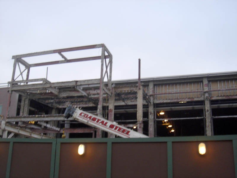 Toy Story Mania construction photos