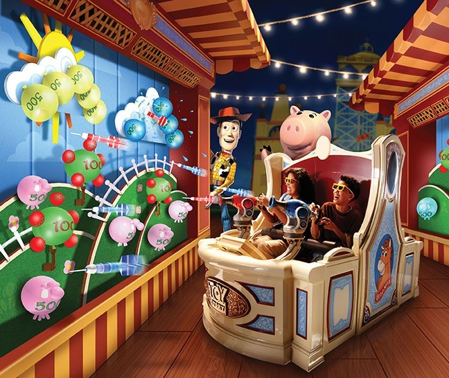 New Toy Story Mania concept art