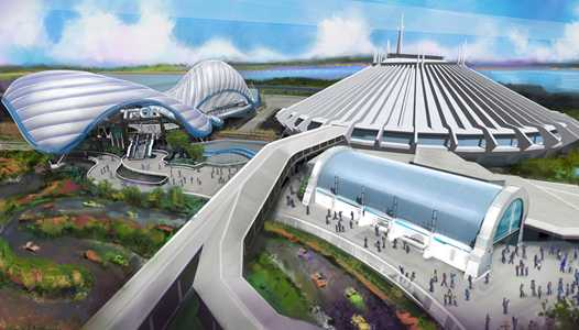 Permits filed to begin Tron construction at the Magic Kingdom