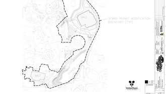 PHOTO - Recently filed permits show the precise location of the TRON coaster and new Main Street Theater