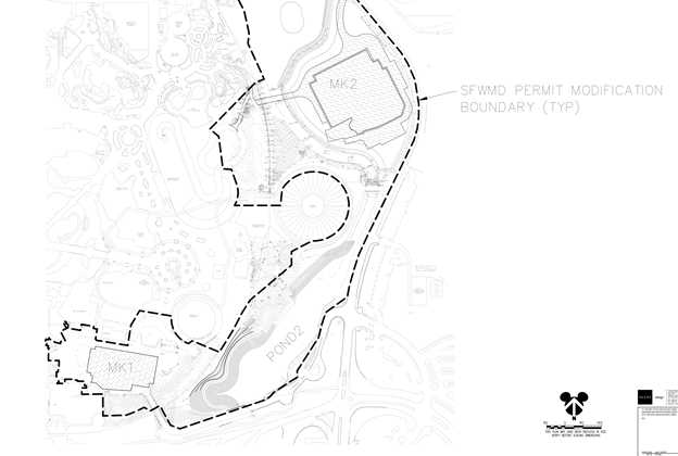 Site plans for Tron coaster and new Main Street Theater