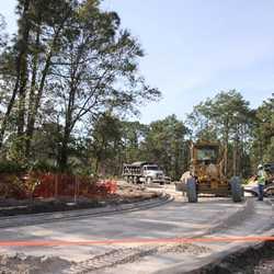 Typhoon Lagoon main entrance road expansion