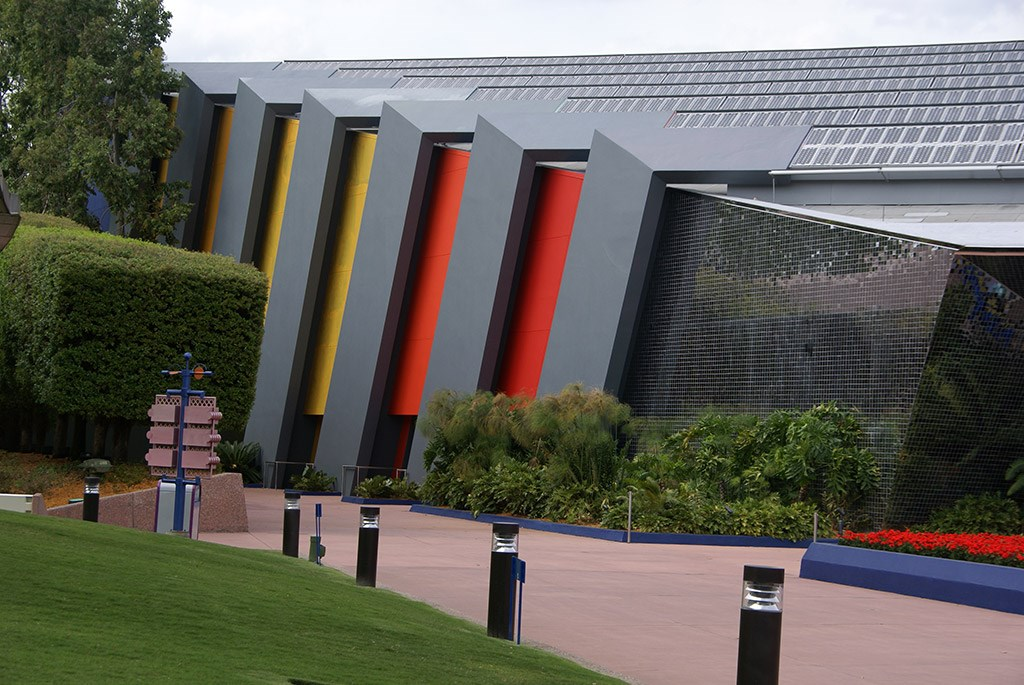 Universe of Energy Pavilion exterior paint refurbishment