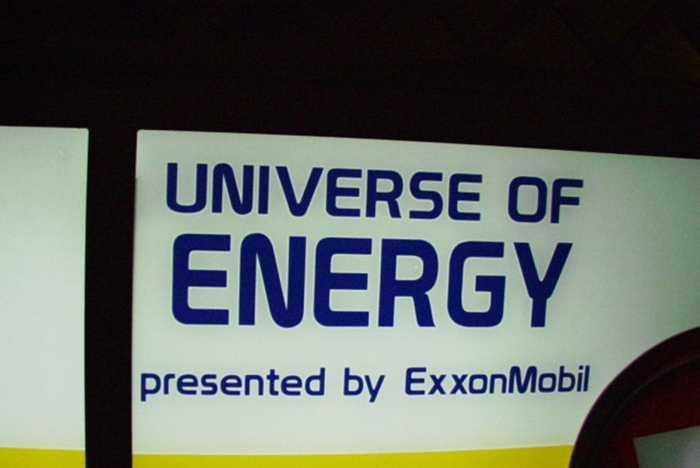 New Exxon signage