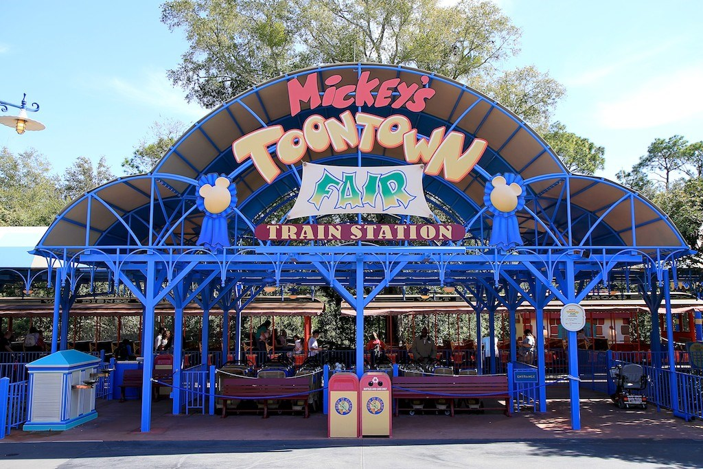 Mickey's Toontown Fair station