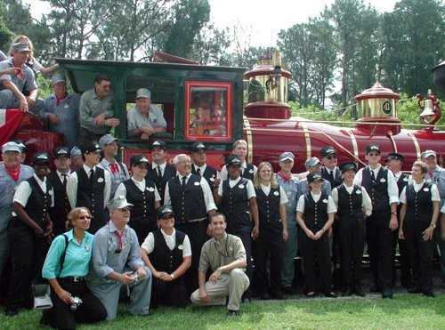 Roy E Disney rededicates fathers train