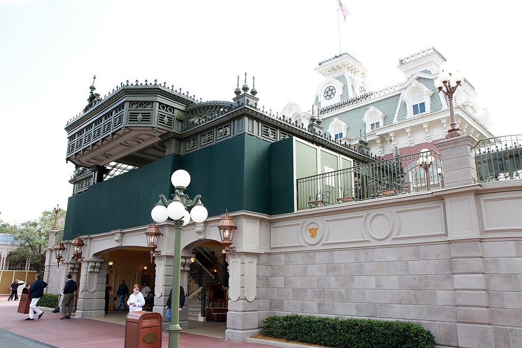 Main Street U.S.A. station refurbishment
