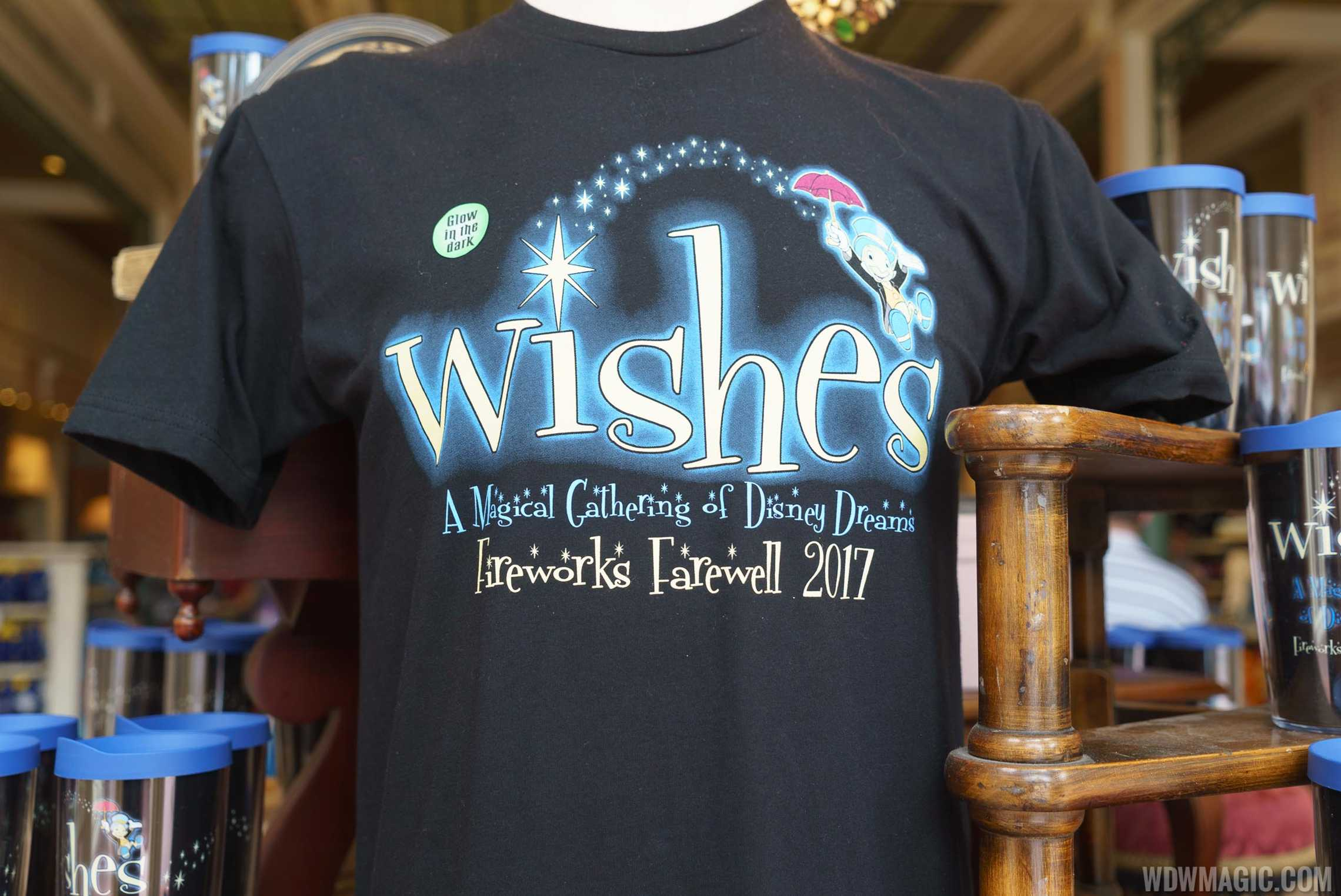 Wishes Farewell merchandise - Glow in the Dark T-Shirt