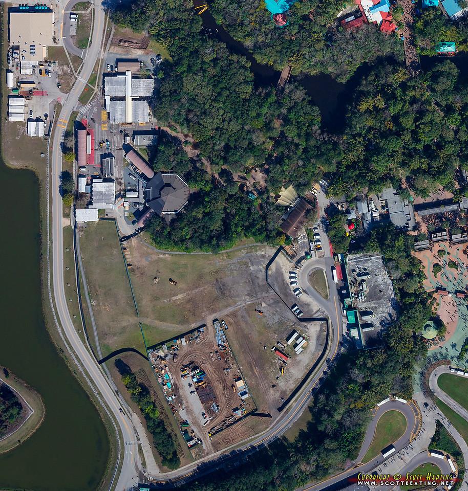 PHOTOS - Aerial views of AVATAR land construction progress