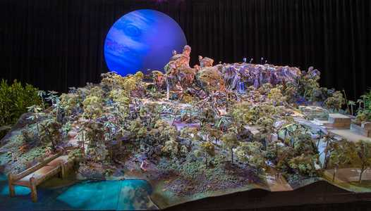 VIDEO - Walt Disney Imagineering shows incredibly life-like animatronic figure for Pandora