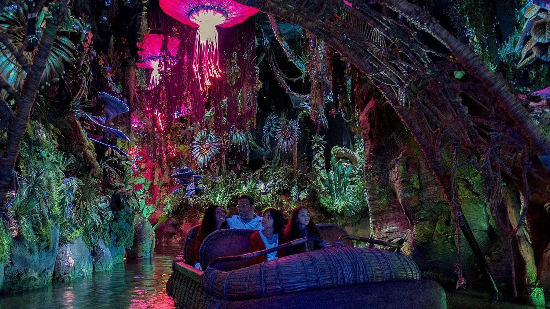 Inside the Na'vi River Journey