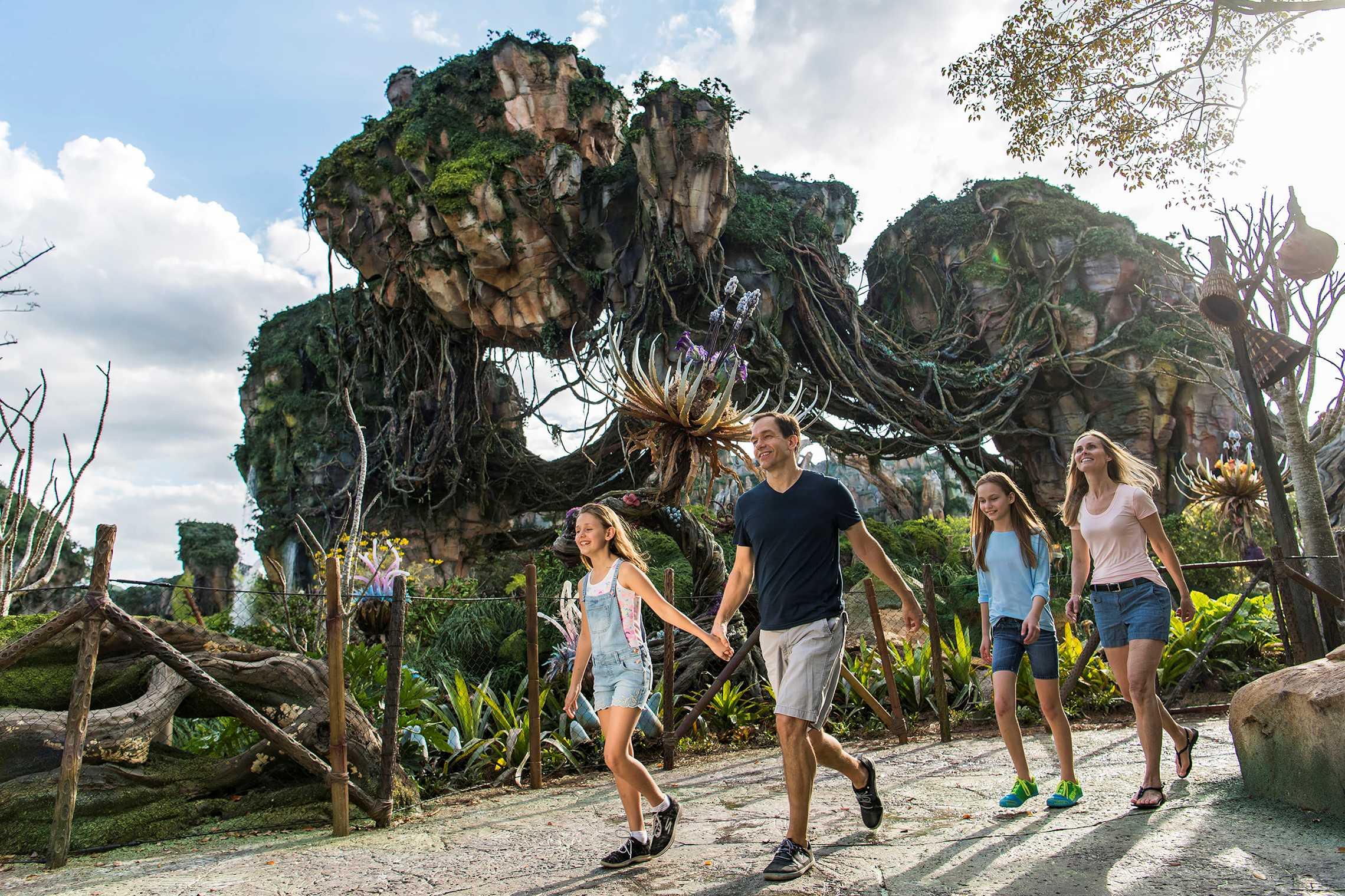 Inside Pandora - The World of Avatar. Copyright 2017 The Walt Disney Company