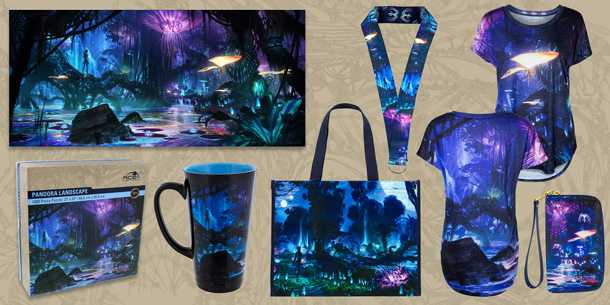Merchandise coming to Pandora - The World of Avatar