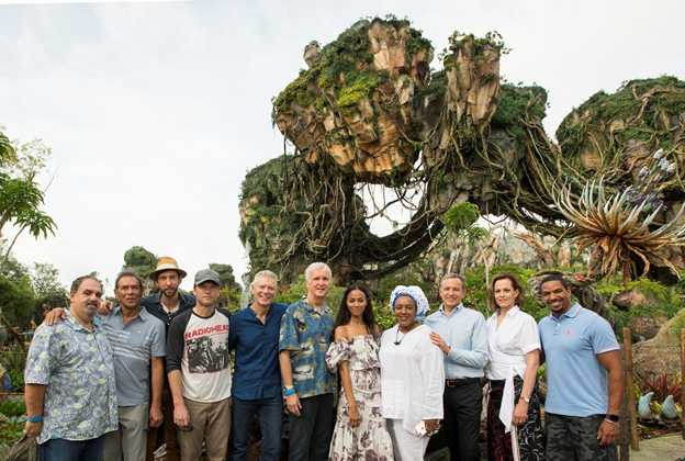 Dedication ceremony of Pandora - The World of Avatar
