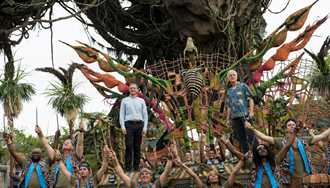 VIDEO - Disney dedicates Pandora - The World of Avatar