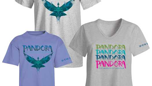 PHOTOS - A look at the opening day commemorative merchandise for Pandora - The World of Avatar