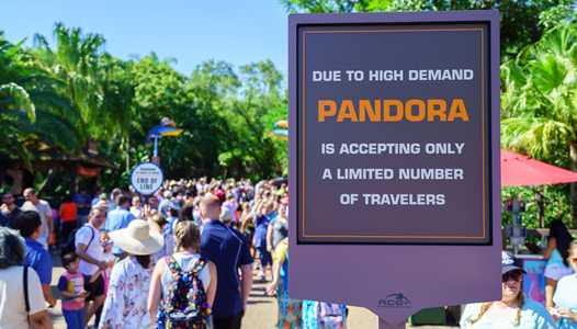 PHOTOS and VIDEO - A look at opening day crowds for Pandora - The World of Avatar