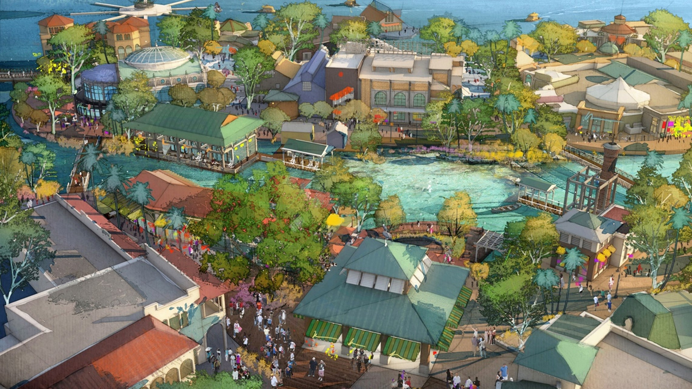 Disney Springs concept art
