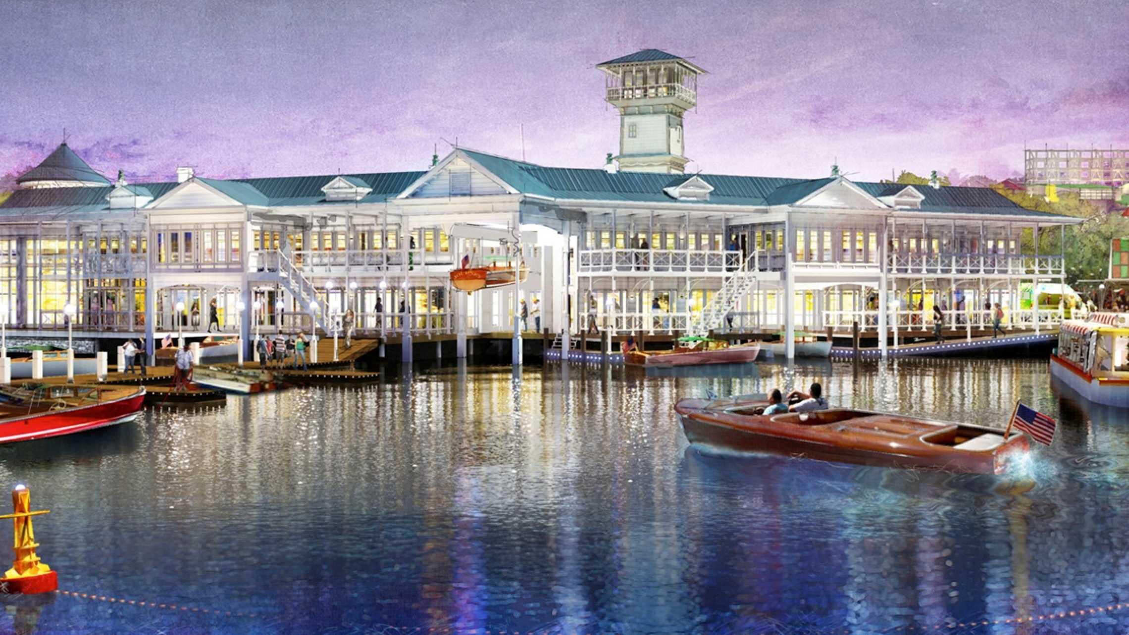 Disney Springs - The Landing concept art