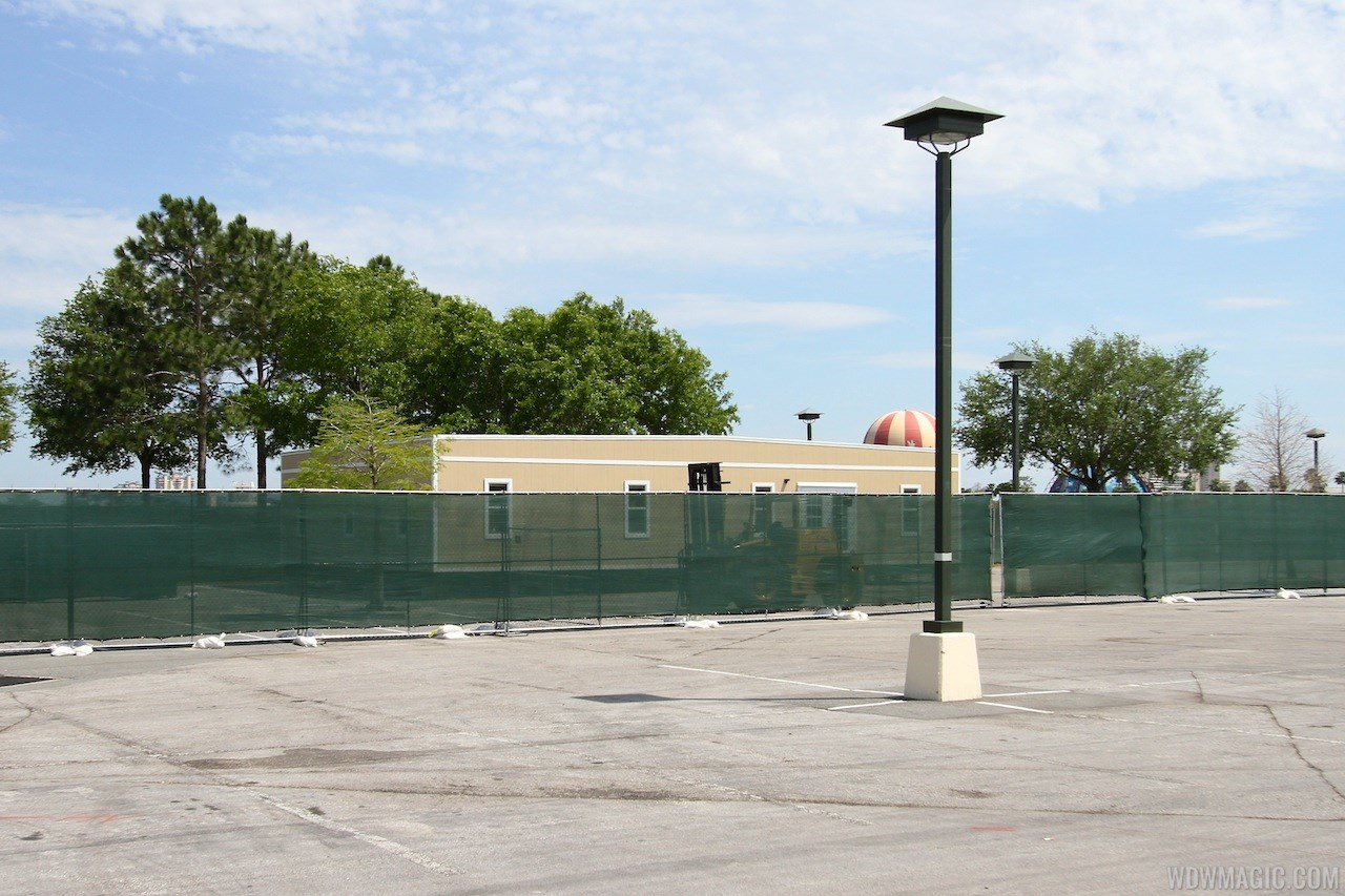 Disney Springs cast trailer preparation in Lot Q