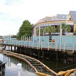 Pleasure Island bypass bridge construction