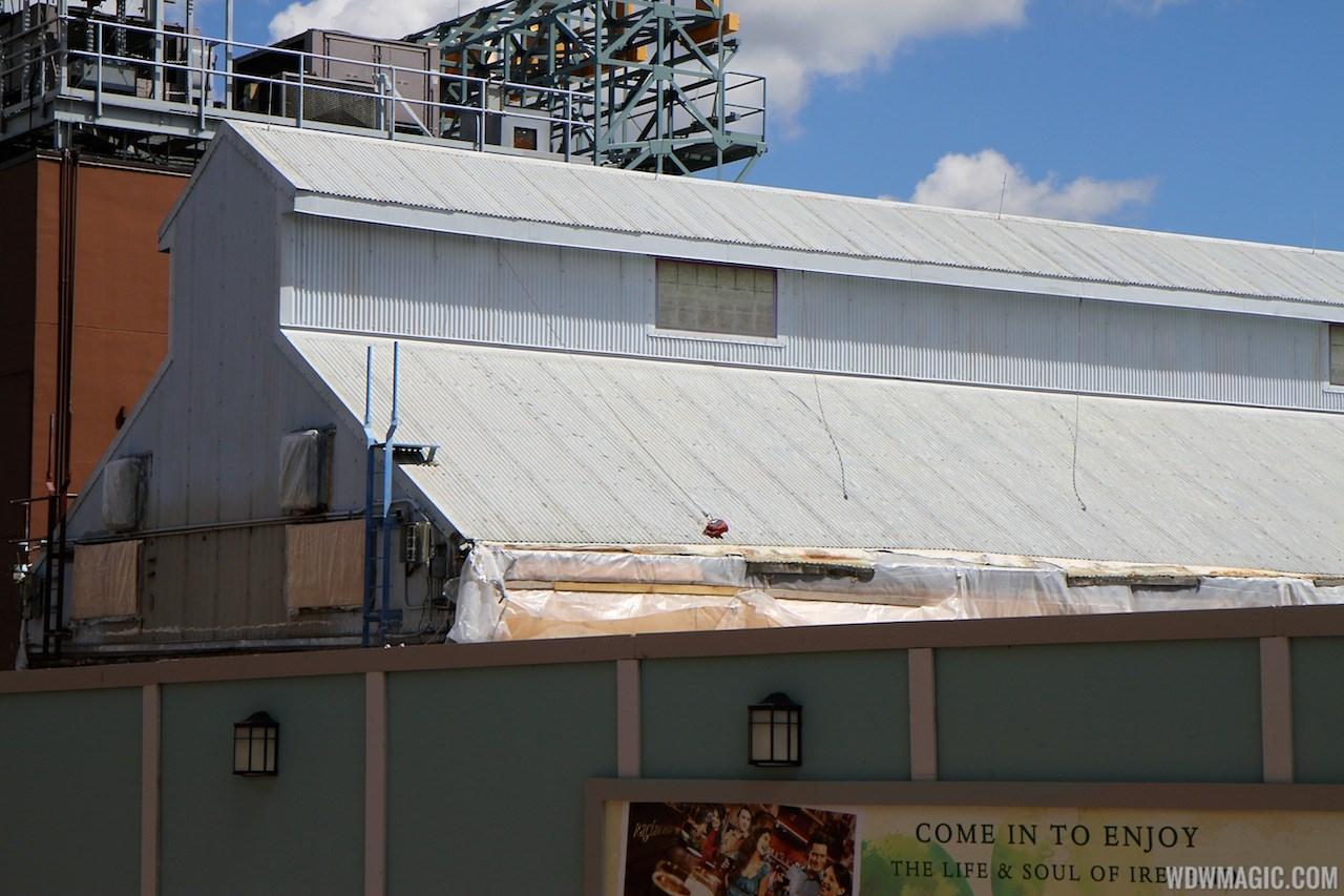 Pleasure Island demolition and construction