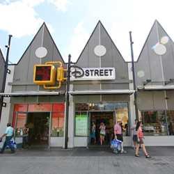 West Side D-Street new paint scheme for Disney Springs