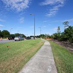 Buena Vista Drive expansion road works