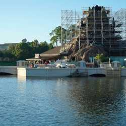 Disney Springs Marketplace Causeway construction