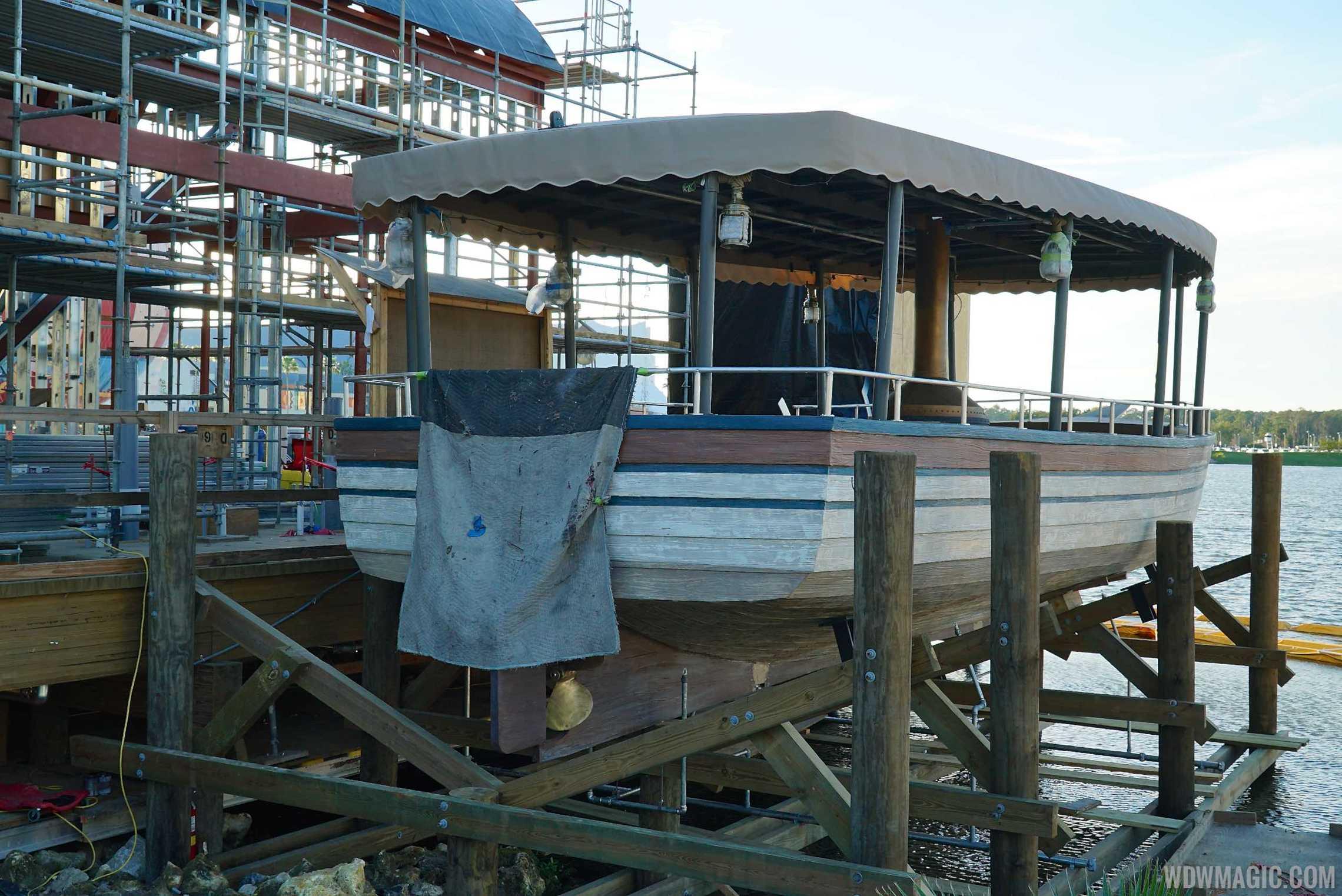 Boat at The Hangar