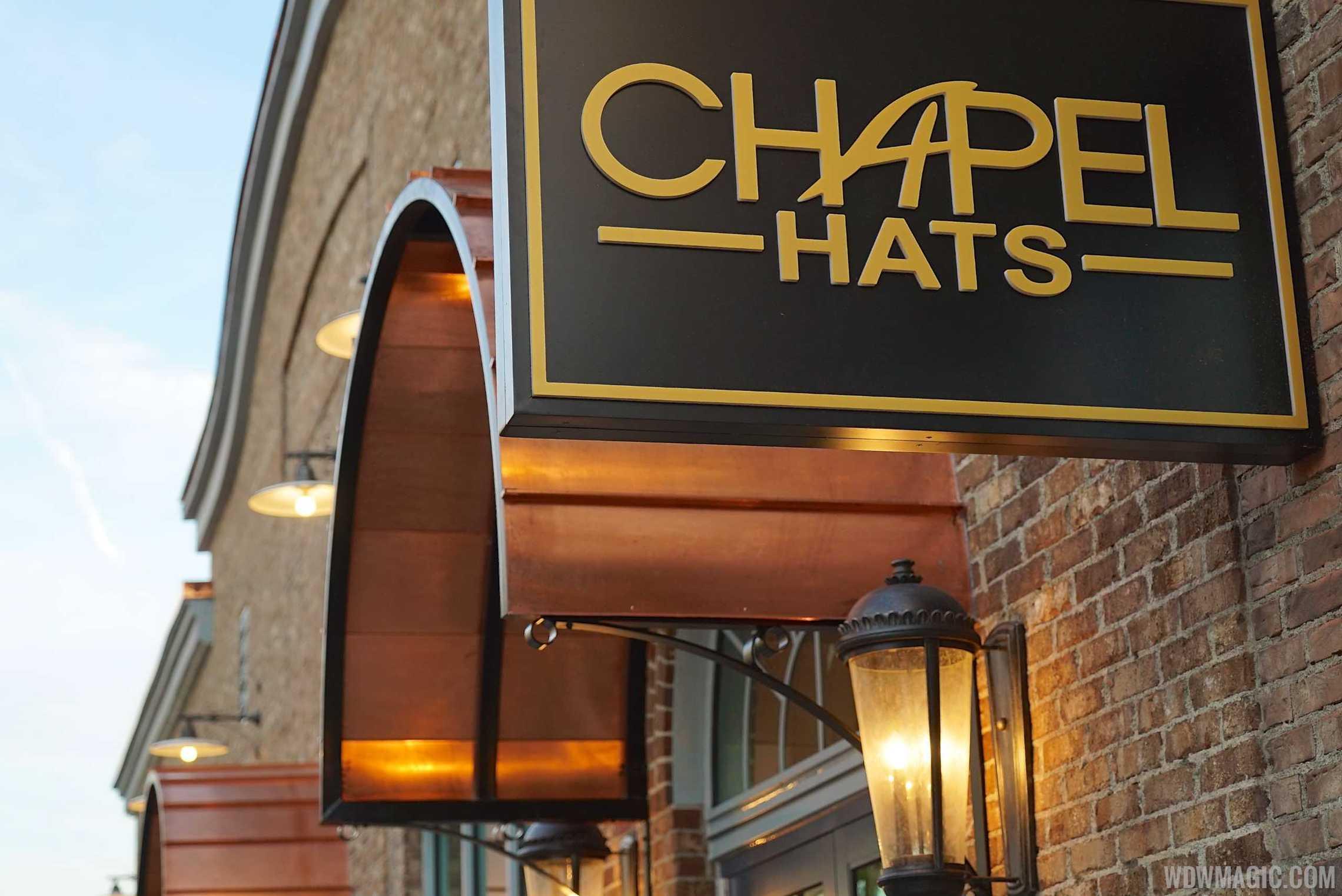 Chapel Hat signage