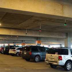 West Side Parking Garage available space sensor system