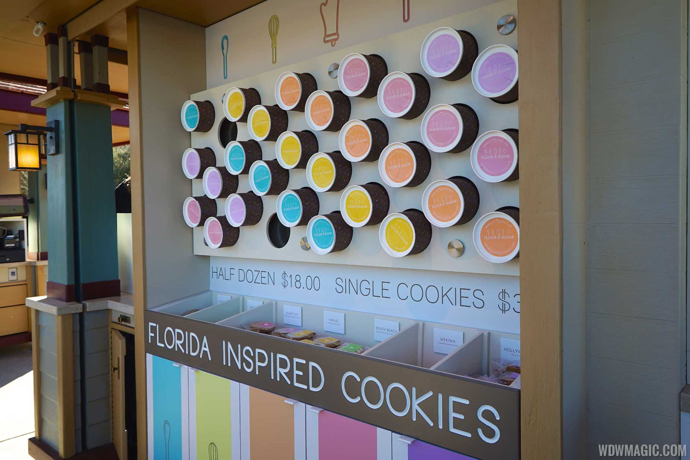 Causeway Kiosk - Flour and Sugar - Cookie Display