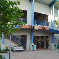 Disney Springs Orange Parking Garage east connector