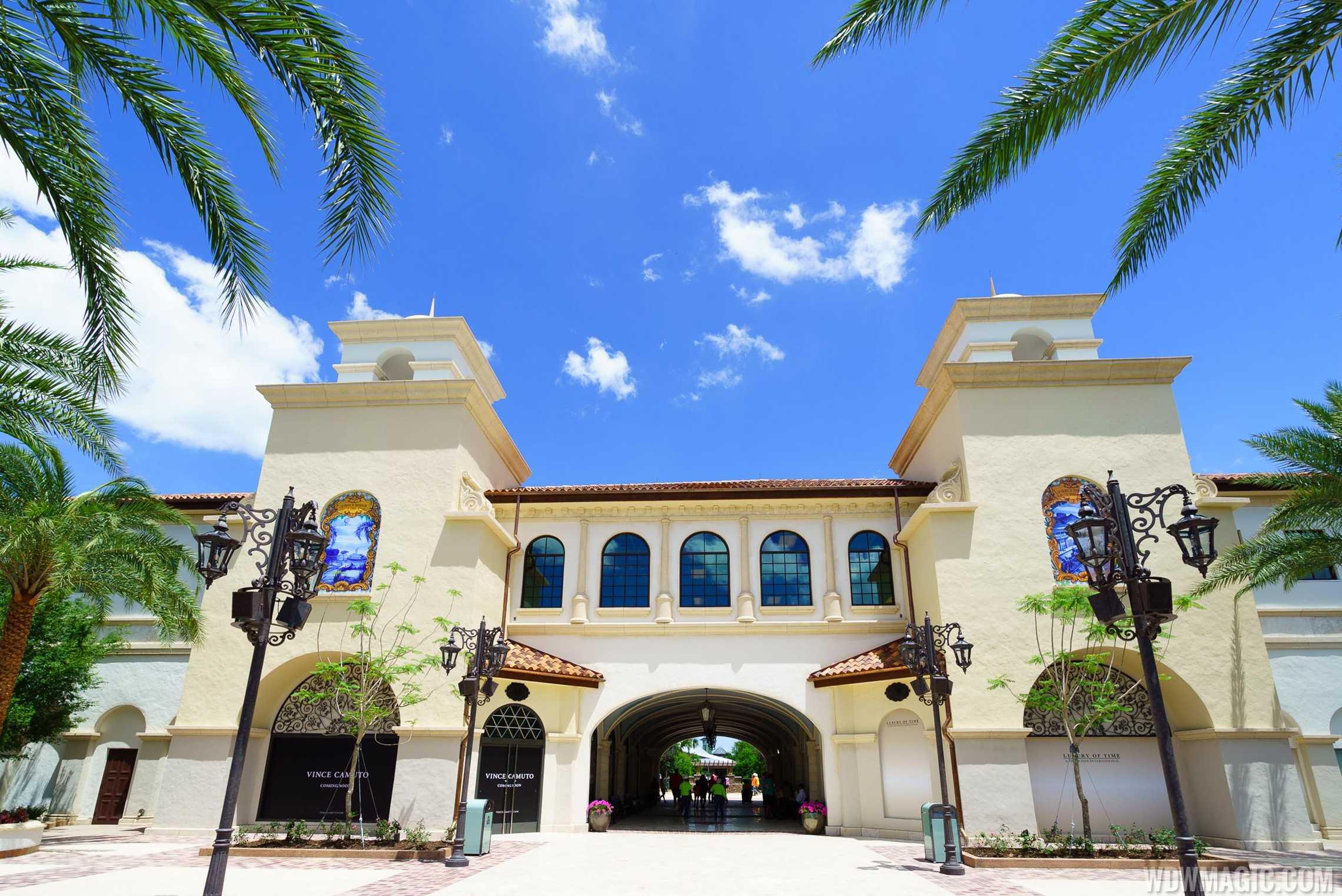 Disney Springs main entrance
