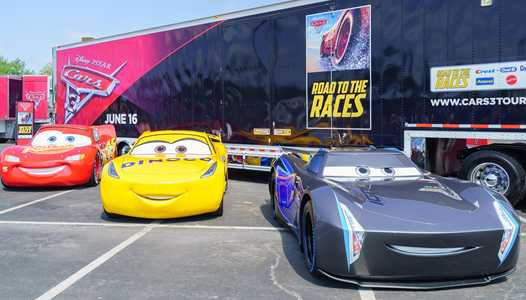 PHOTOS - Cars 3 Road to the Races now at Disney Springs