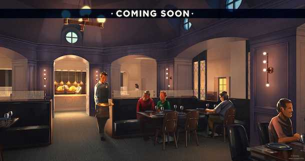 Ale and Compass Restaurant concept art