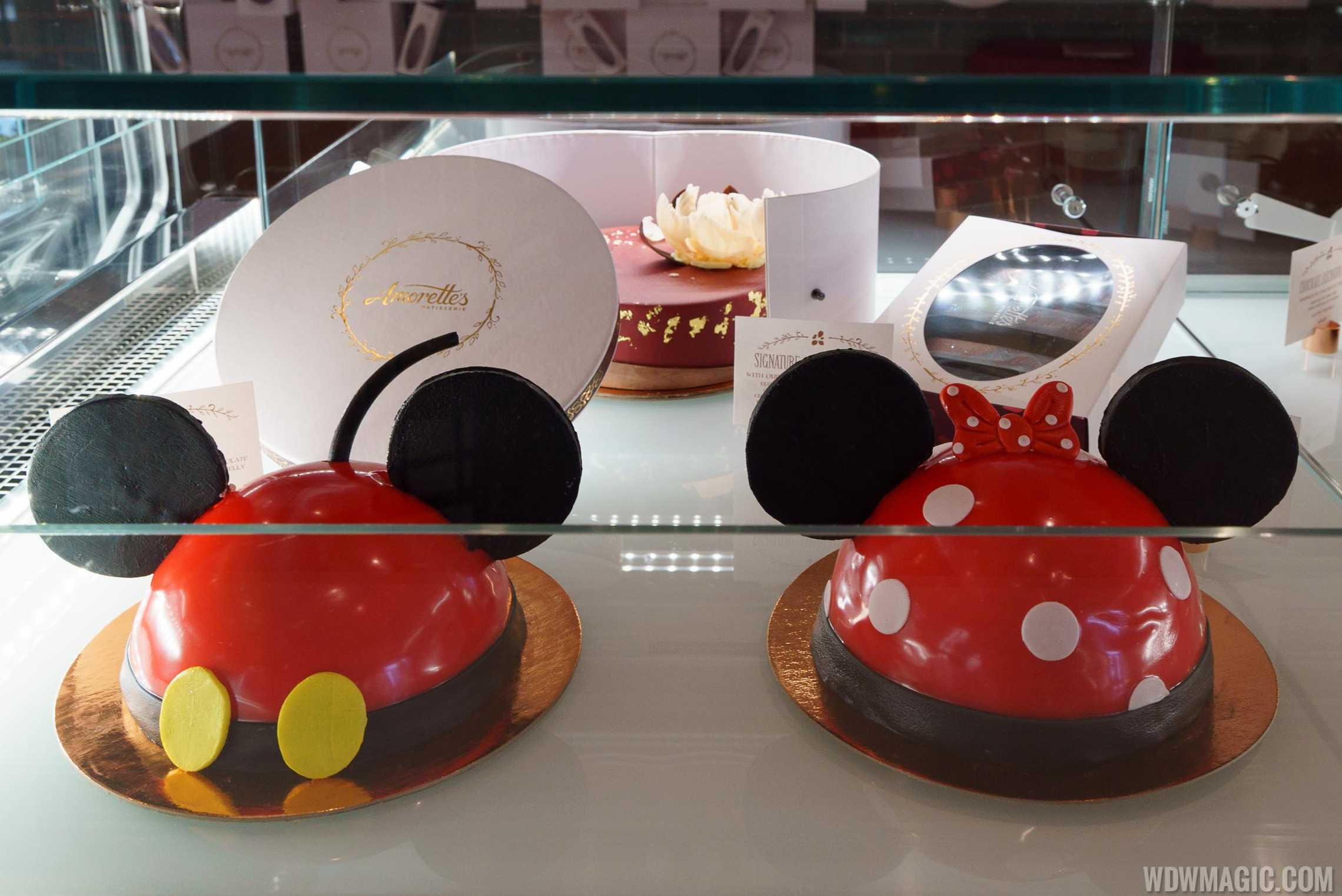 Amorette's Patisserie - Mickey and Minnie Dome Cakes
