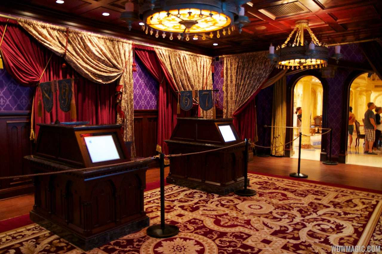 Inside be our guest restaurant dining rooms photo 5 of 19 for 3 dining rooms at be our guest