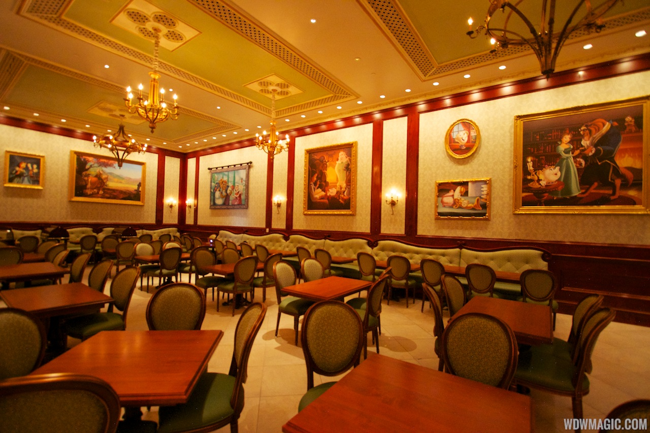 Inside Be Our Guest Restaurant Dining Rooms Photo Of - Be our guest 20 stellar guest room design ideas
