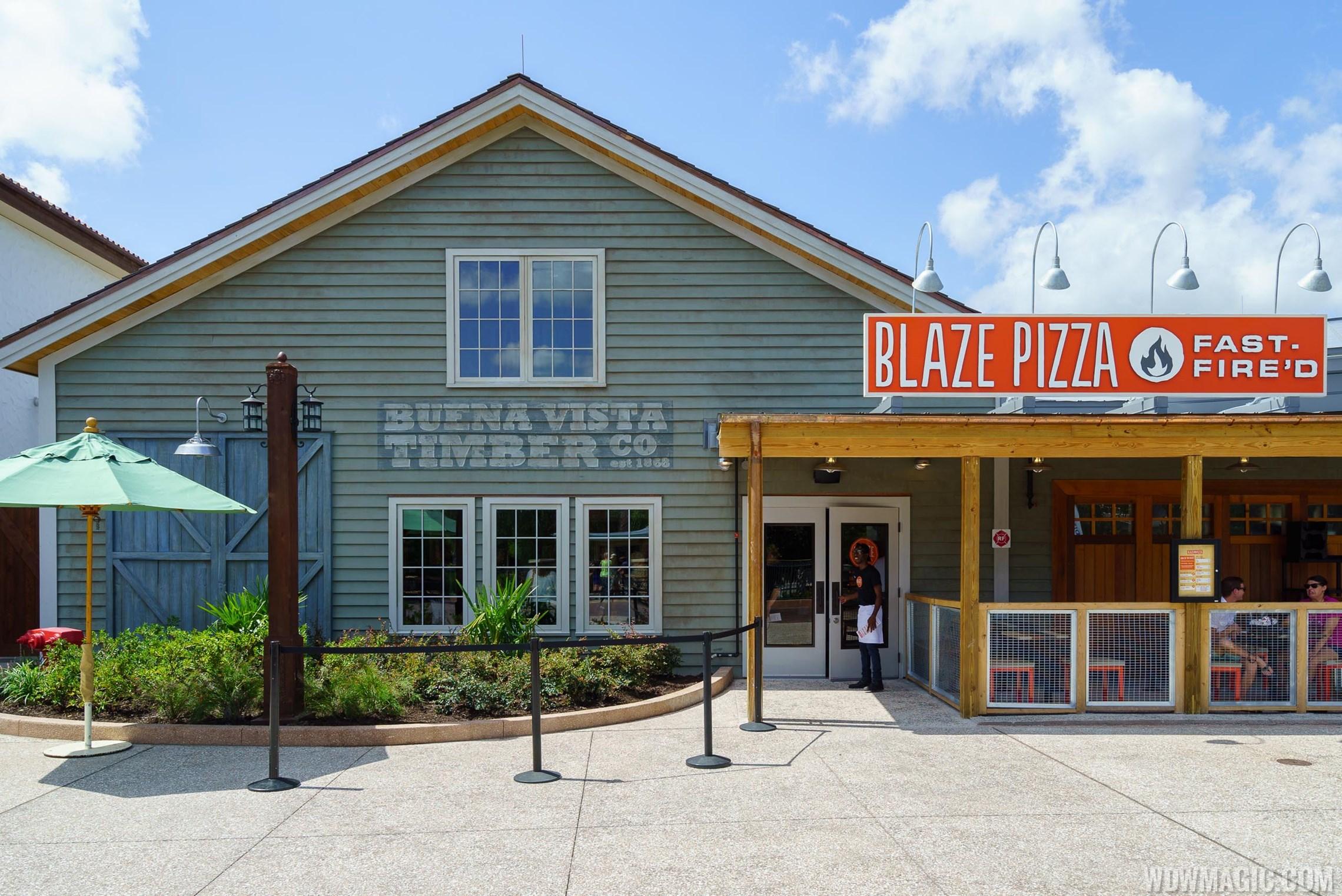 Blaze Pizza overview