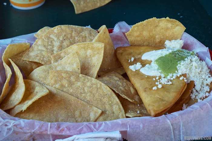 Cantina de San Angel food