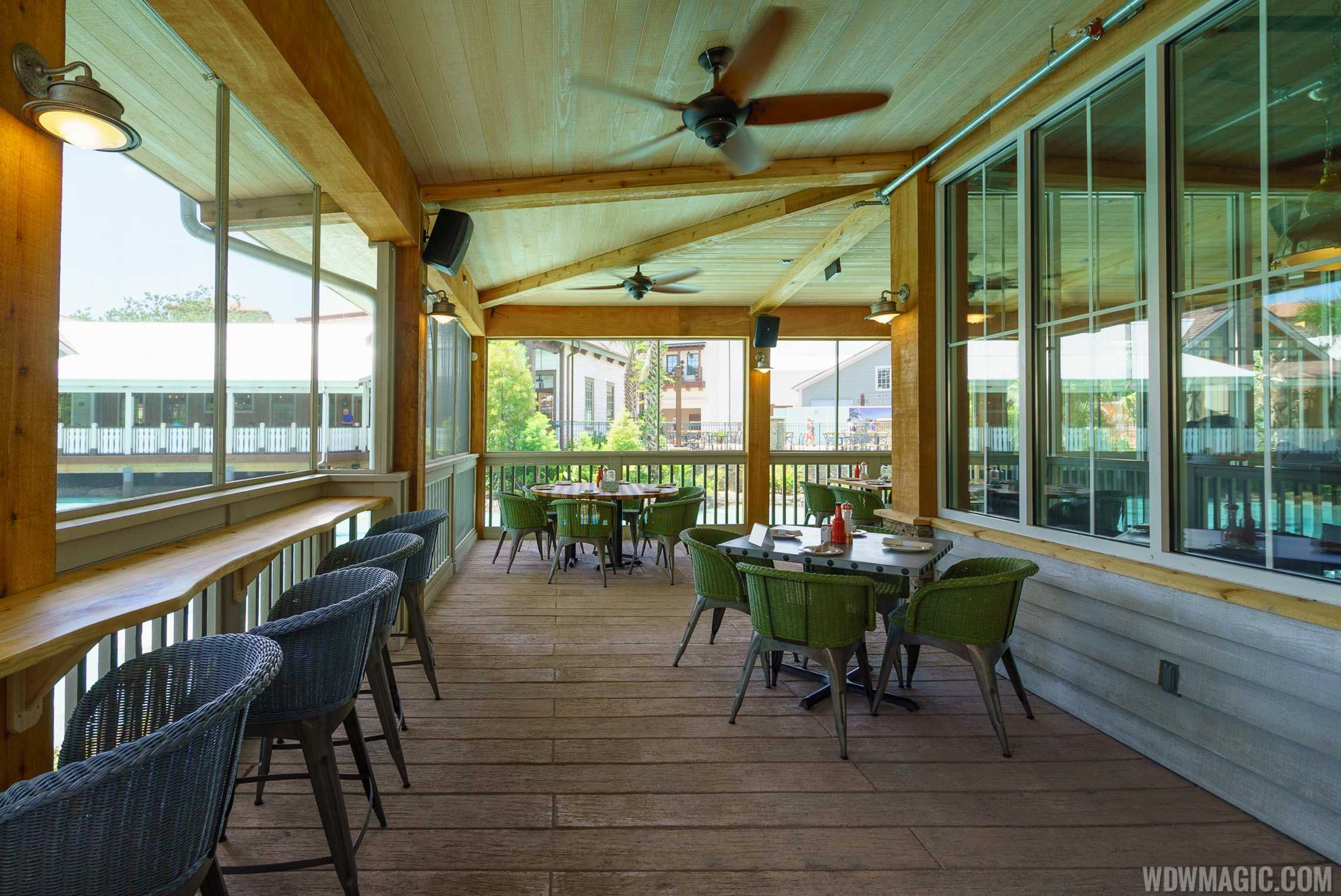 Homecoming: Florida Kitchen and Shine Bar outdoor seating