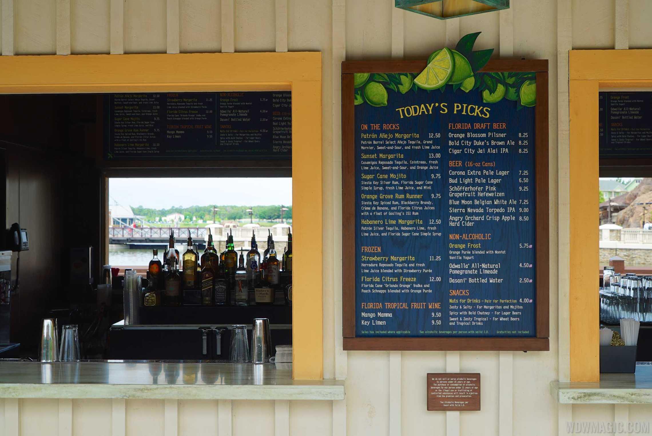 Dockside Margaritas - To Go