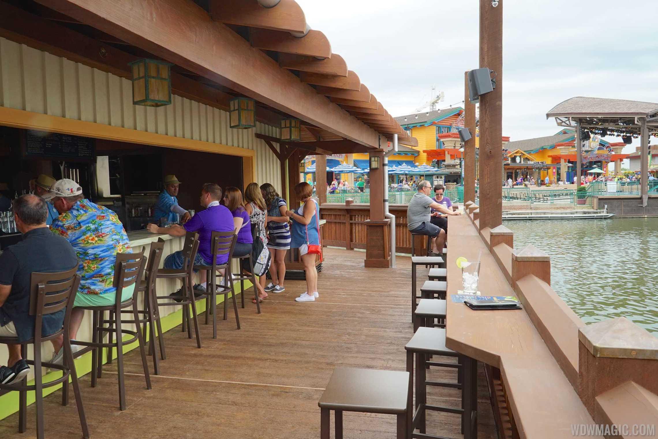 Dockside Margaritas - Bar counter