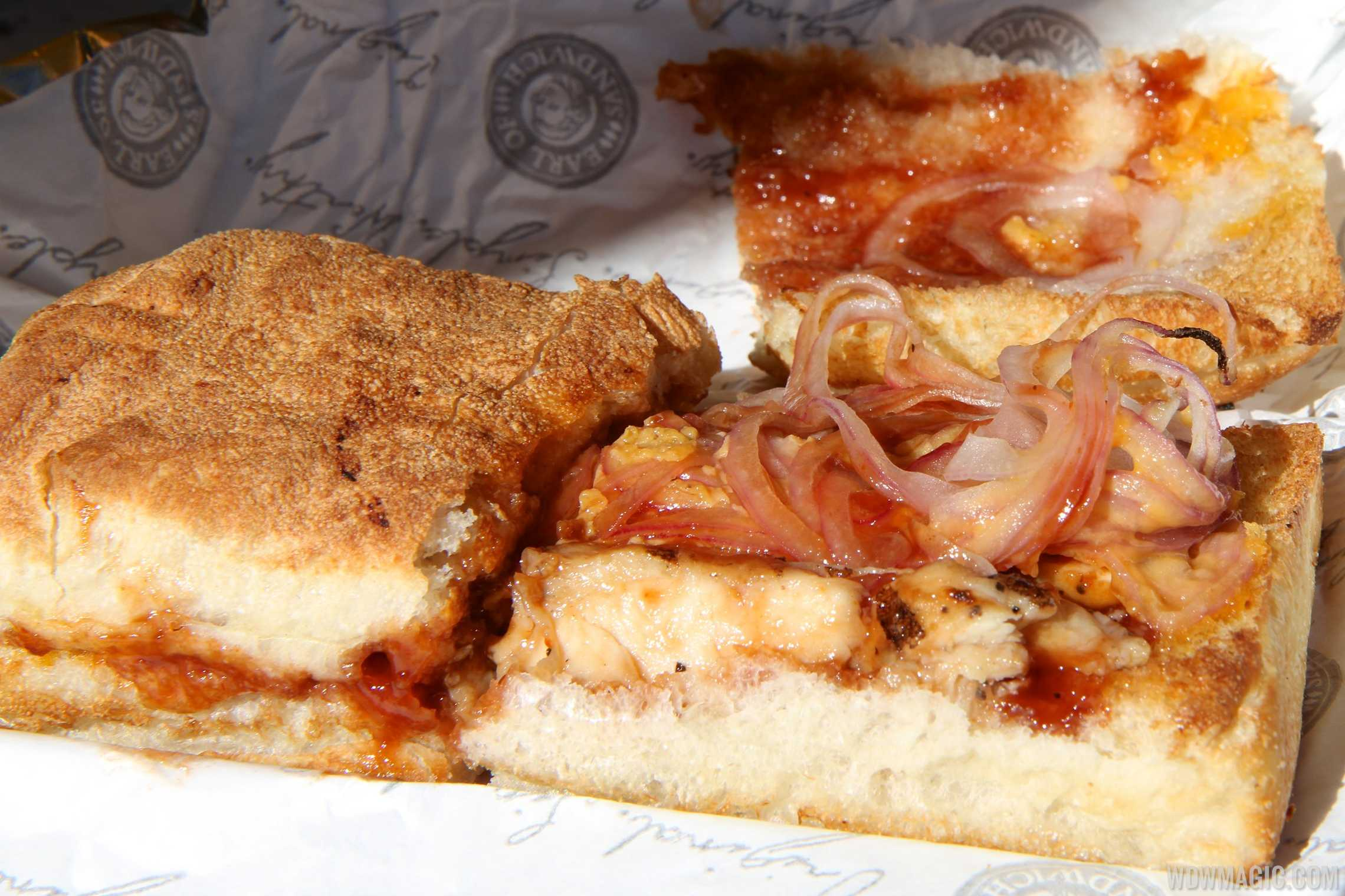 Earl of Sandwich - BBQ Chicken Sandwich