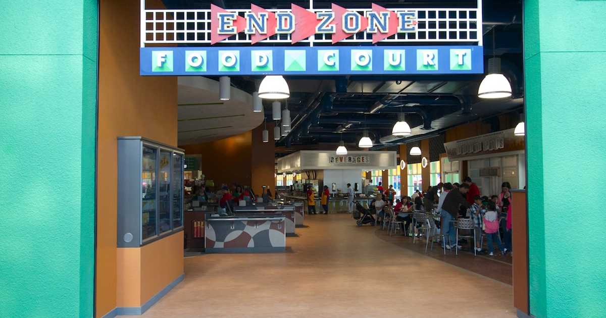 New end zone food court photo 1 of 20 for Cuisine new zone